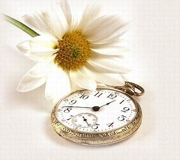 El tiempo pegado a mi.